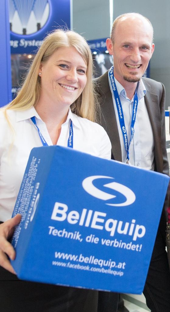 BellEquip Bewerbungsteam Sonja Hackl und Christian Löschenbrand