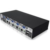 AdderView 4 Pro VGA Adder 4 Port KVM Switch für VGA Video