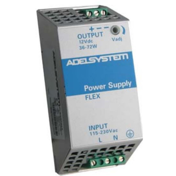 FLEX6012A AdelSystem AC/DC 12VDC DIN Rail Power Supply