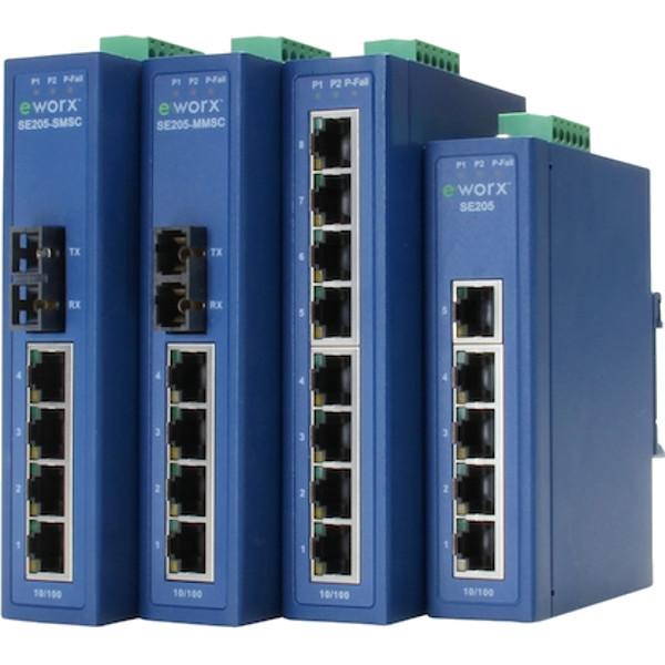 Eworx Se200 Serie Industrie Switches Von Advantech Bellequip