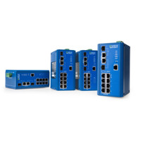 eWorx SE500 Monitored und Managed Ethernet Switches von Advantech B+B SmartWorx.
