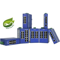 eWorx SE300 Series monitored unmanaged industrielle Netzwerk Switches von Advantech B+B SmartWorx