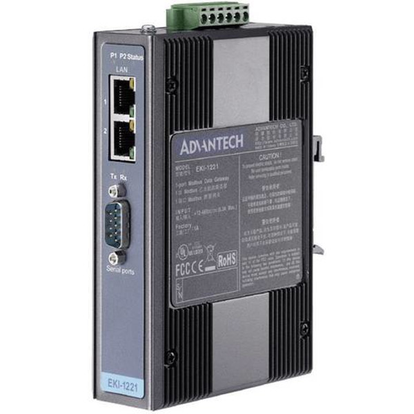 EKI-1521 Advantech RS-232 RS-422 RS-485 serieller Device Server