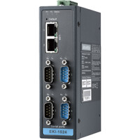EKI-1524 Advantech 4-Port RS-232/422/485 Seriell auf IP Konverter
