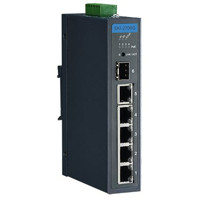 EKI-2706G-1GFP Advantech 4GE PoE + 1G + 1G SFP Unmanaged Gigabit PoE Industrial Ethernet Switch