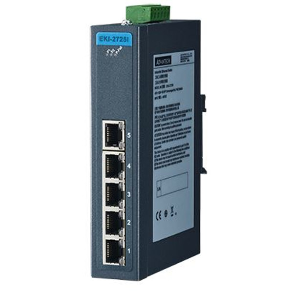 EKI-2725 Advantech Gigabit Unmanaged Industrie Netzwerk Switch