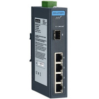 EKI-2725FI Advantech 4GE+1G SFP Unmanaged Gigabit Industrial Ethernet Switch