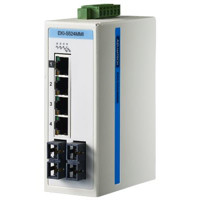Advantech EKI-2524MMI 4FE+2FE SC Multi-mode Unmanaged Industrie Switch