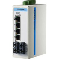 EKI-5524SSI Unverwalteter Ethernet ProView Switch mit 4x RJ45 und 2x Single-Mode SC Ports von Advantech