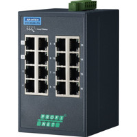 EKI-5526I-PN Managed PROFINET Fast Ethernet Switch mit 16x RJ45 Ports von Advantech