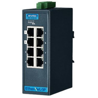 EKI-5528-EI Advantech 8 Fast Ethernet Port Managed Ethernet Switch mit Ethernet/IP Support