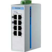 EKI-5728I 8GE Gigabit Modbus/TCP SNMP Unmanaged Ethernet ProView Switch von Advantech