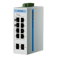 EKI-5729FI Lite-Managed Ethernet Switch mit 8 Gigabit Ethernet und 2 SFP Ports von Advantech