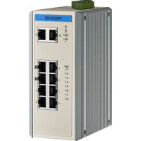 EKI-5729PI Lite Managed Switch mit 8 Gigabit Ethernet PoE und 2 Gigabit Ethernet Ports von Advantech