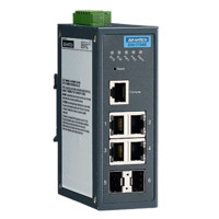EKI-7706 Ethernet Managed redundante industrielle Switches mit 6 Ports von Advantech