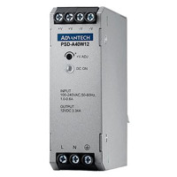 PSD-A40W12 DIN Rail Power Supply AC zu DC 100-240V 40W 24V von Advantech Rechts