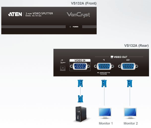 vs132a-aten-vga-grafik-splitter-2-port-verstaerker-diagramm