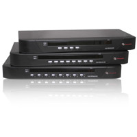 SwitchView 1000 Rack Mount KVM Switches von Emerson Network Power (Avocent).