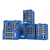 eWorx SE400 Managed Industrie Protokoll Switches von Advantech B+B SmartWorx mit 8-16 Ports.