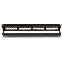 JPM820A-HD 48 Port CAT6 HD Feed-Through Patchpanel, ungeschirmt von Black Box