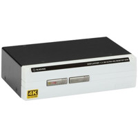 KV6202A 4K60 DisplayPort 1.2 KVM Switch mit HDCP und True Transparent USB von Black Box