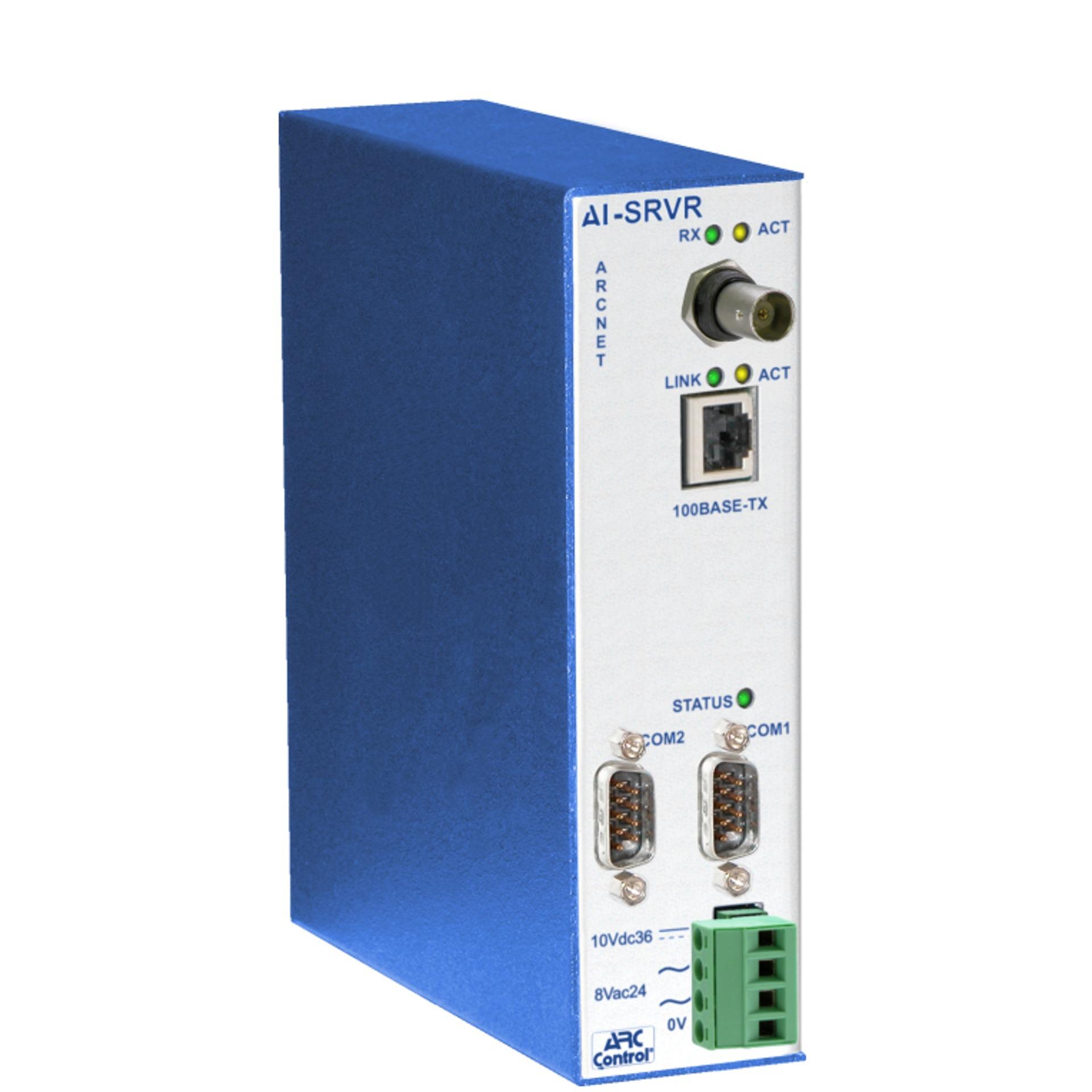 AI-SRVR Serie - ARCnet Server von CControls - BellEquip