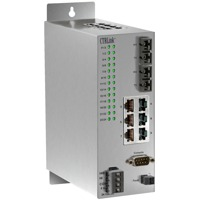 Der EIDX24M-100T-FC von Contemporary Controls ist ein Managed Outdoor Switch.