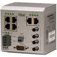 Der EISX8M-100T-FT von Contemporary Controls ist ein Unmanaged Outdoor Switch.