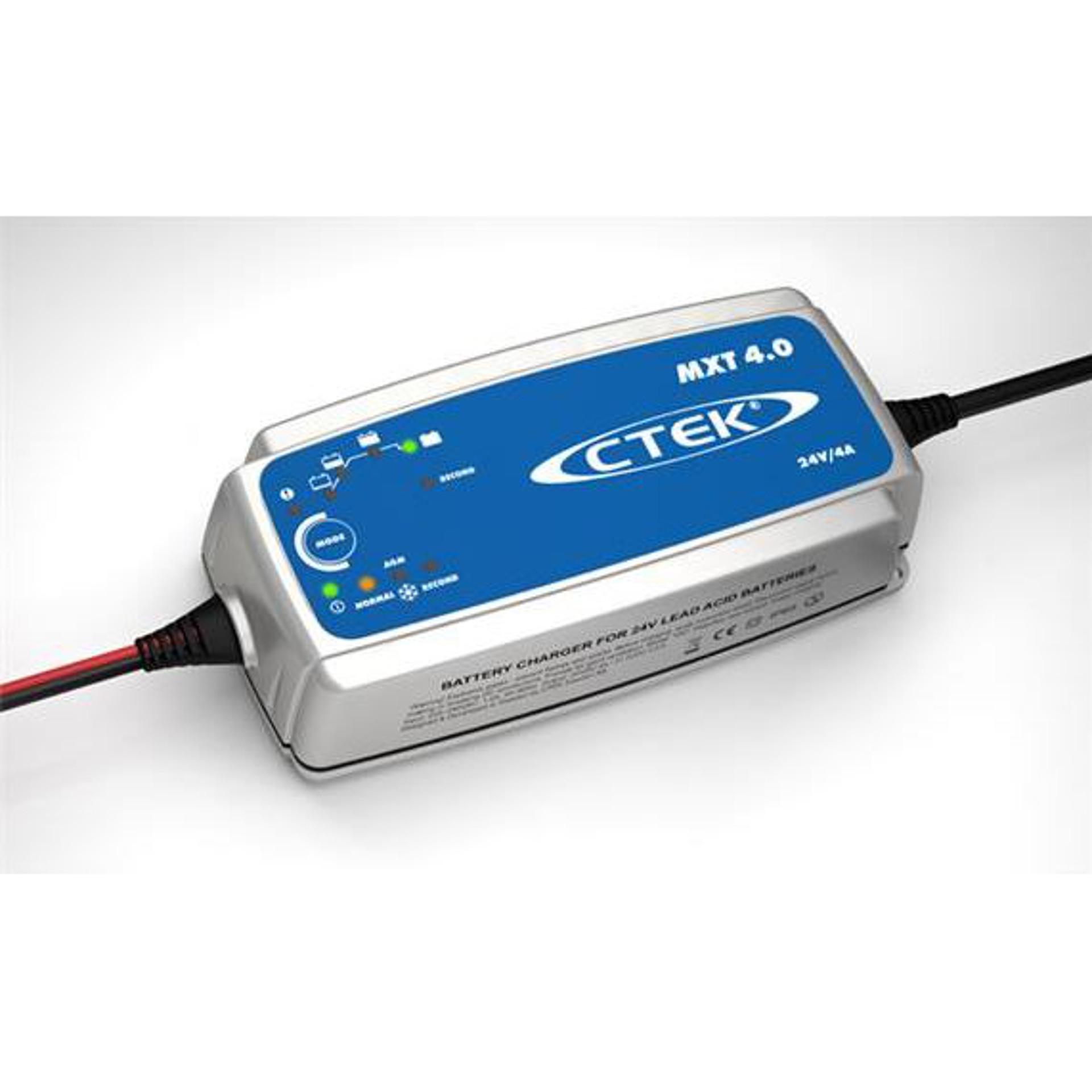 MXT 4.0 24V 4A Batterie Ladegerät CTEK BellEquip