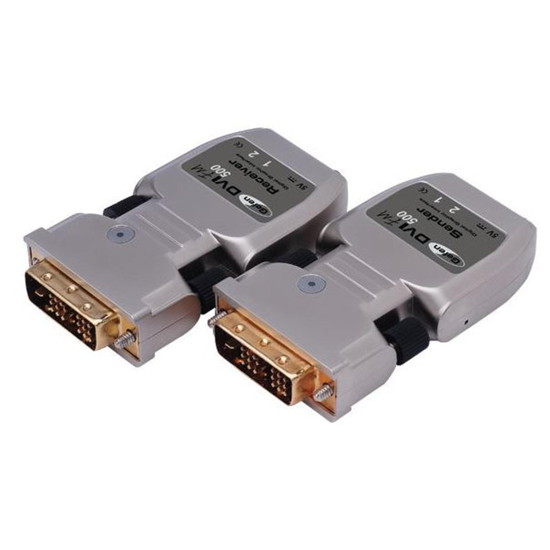 EXT-DVI-FM500 DVI Glasfaser Extender - Gefen - BellEquip