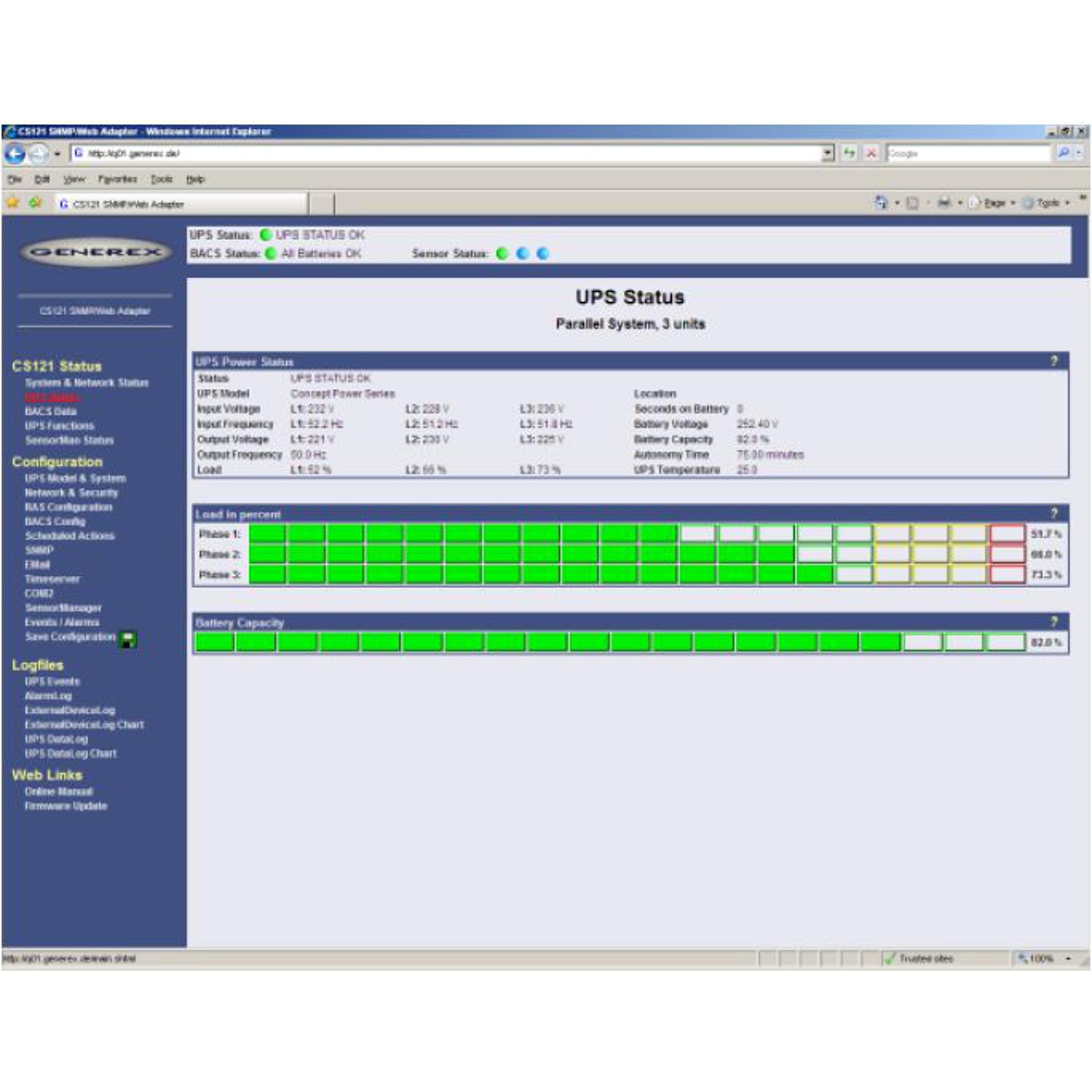 PowerNetGuard - Zentralisierte USV Steuerung und Überwachung über SNMP-Interface