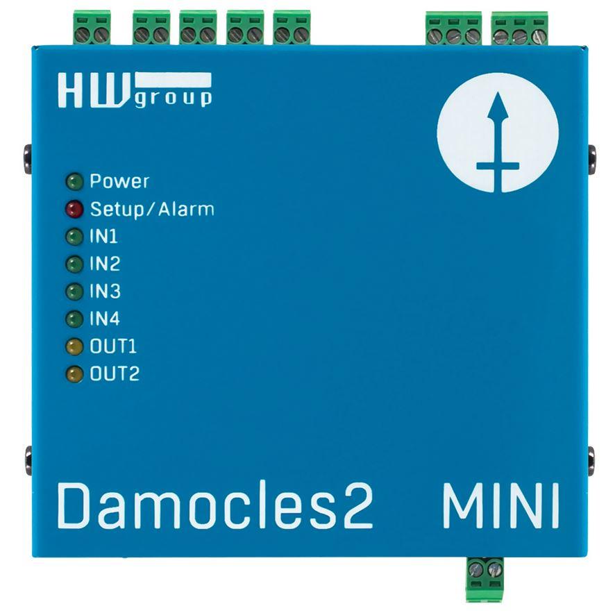 Damocles2 MINI Remote I/O Einheit mit 4 digitalen Eingängen und 2 digitalen Ausgängen