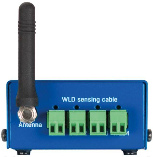 WLD2 Wasserdetektor mit 4x Sensorkabeln, WiFi und Ethernet für Leckageüberwachung von HW Group Back