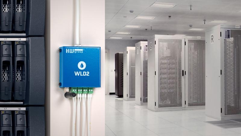 WLD2 Leckageüberwachung für Serverraum und Rechenzentrum