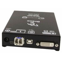 Draco Compact Ihse DVI USB KVM Extender CATx Glasfaser