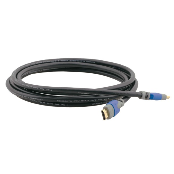 C-HM/HM/PRO von Kramer Electronics ist ein High-Speed HDMI & Ethernetkabel.