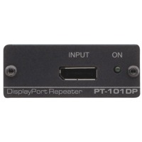 DisplayPort Eingang des Pt-101DP Signal Repeaters von Kramer Electronics.