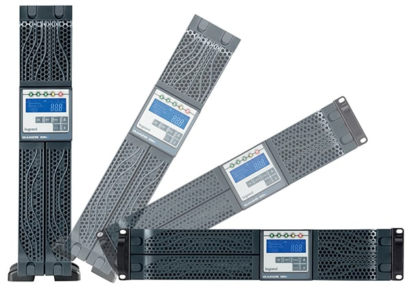 Daker DK Plus Legrand Rack Tower Online USV Anlage