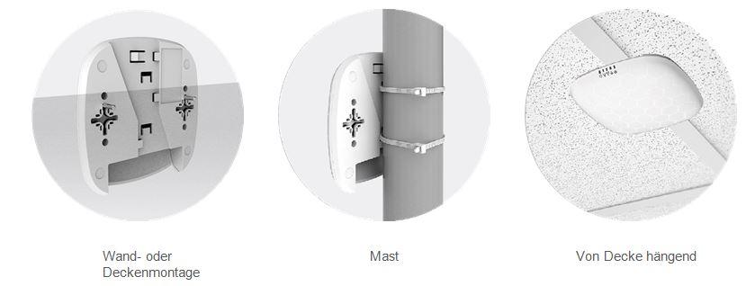 Flexible Montage LigoWave NFT 2ac Indoor Wi-Fi WLAN Access Points