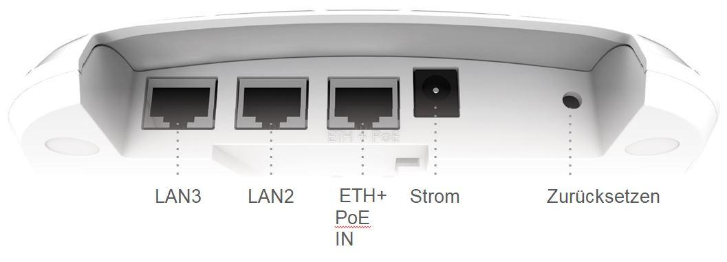 NFT 2ac Infinity Serie 2,4 und 5 GHz Indoor Wi-Fi Access Point