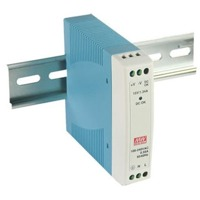 MDR-10-15 Mean Well 10 Watt 15 VDC DIN Rail Power Supply