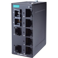 EDS-2008-EL-M-SC Entry Level Ethernet Switch mit 7x Fast Ethernet und 1x Multi-Mode SC von Moxa