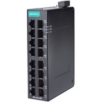 EDS-2016-ML Unmanaged Fast Ethernet Switch mit 16x 10/100 BaseT(X) Ports von Moxa Side
