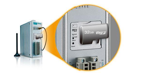 ioLogik 2512-HSPA Datenlogger auf microSD Karte bei Ausfall von Verbindungen.