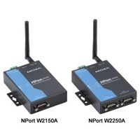 Die NPort W2000A Serie von Moxa sind Wireless Device Server.