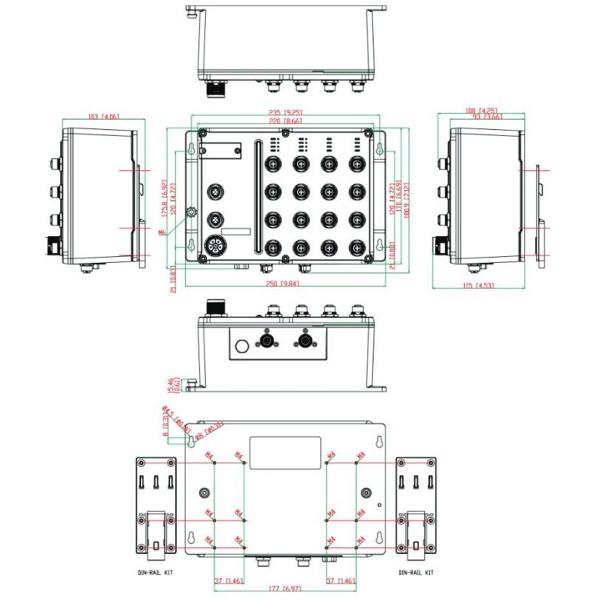 tn-5518a-8poe - netzwerk switch von moxa