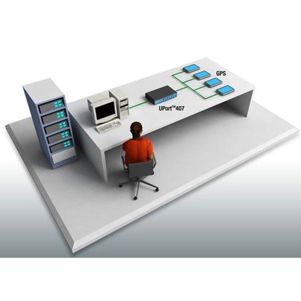 uport 407 7 port usb hub von moxa bellequip. Black Bedroom Furniture Sets. Home Design Ideas