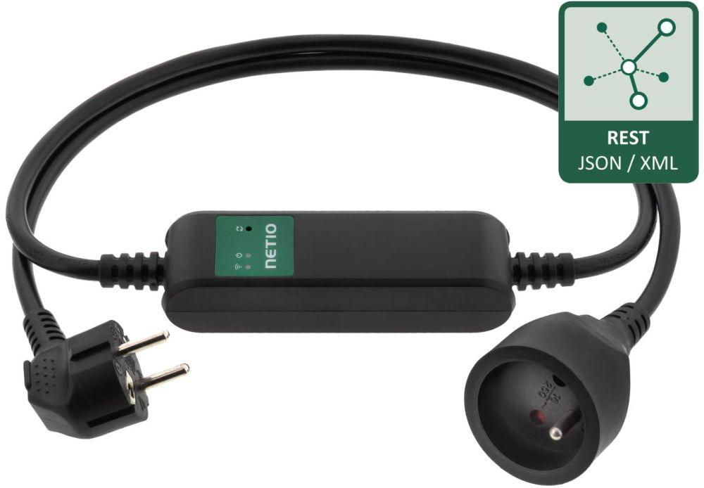 PowerCable REST 101E Smart WiFi Steckdose mit drei http basierten REST Protokollen von Netio
