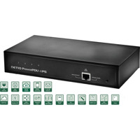 PowerPDU-4PS intelligente Power Distribution Unit mit 4x IEC-320 C13 Ports von Netio
