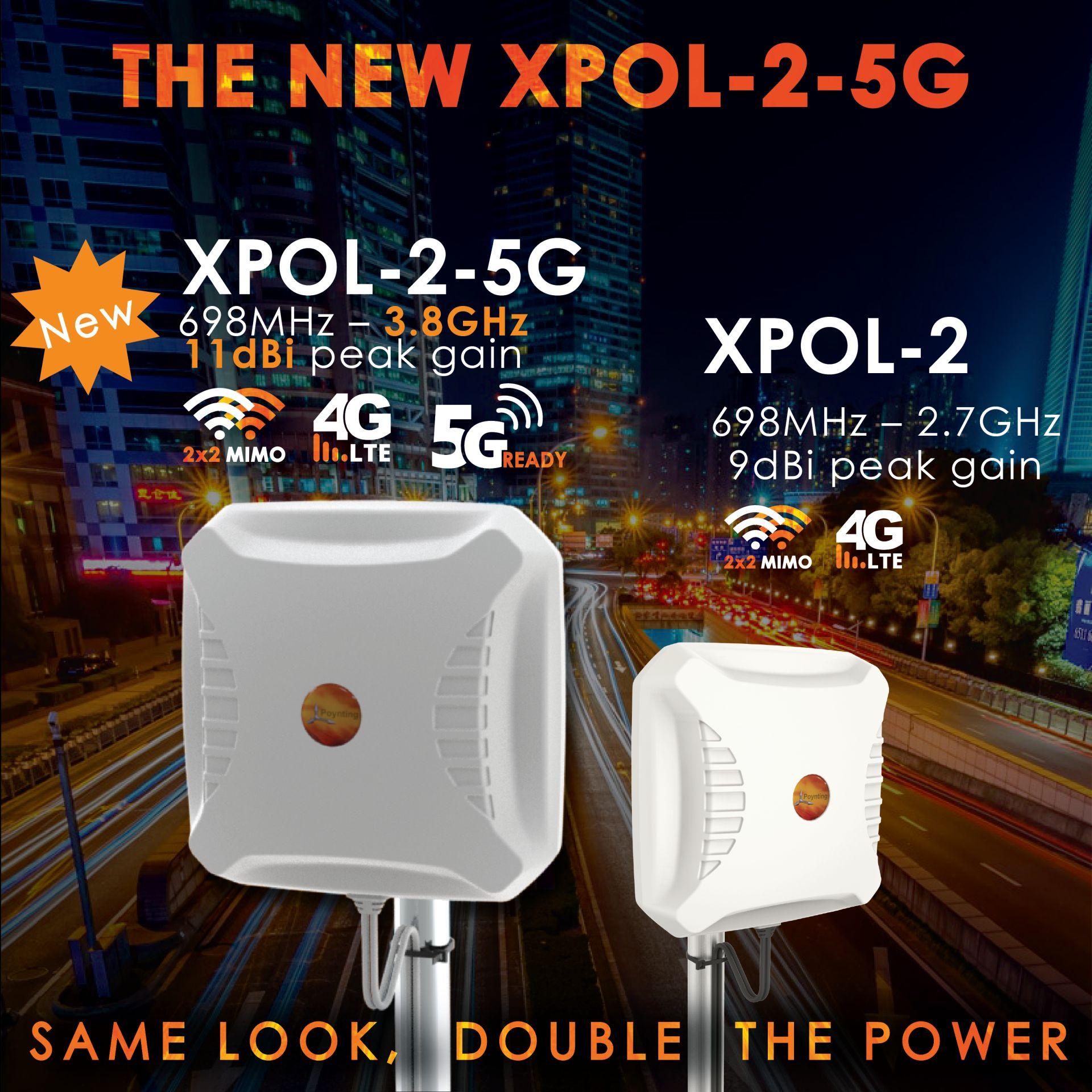 Die neue XPOL-2-5G Antenne von Poynting